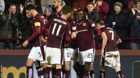 Hearts take on Aberdeen at Tynecastle on Friday