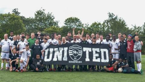 United Glasgow have three men's teams that play on Saturdays and Sundays.