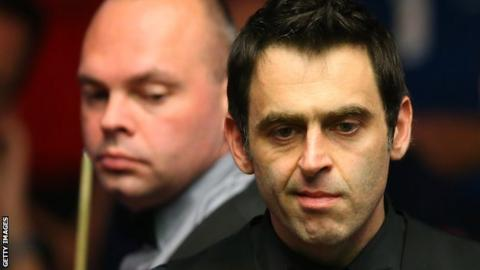Stuart Bingham and Ronnie O'Sullivan
