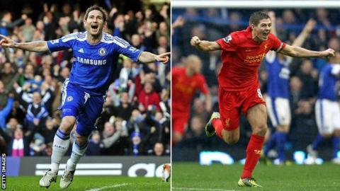 fe6fc6283 Frank Lampard v Steven Gerrard  Who did you say was better  - BBC Sport