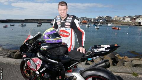 Jamie Hamilton has achieved podium finishes at the North West 200 and Ulster Grand Prix