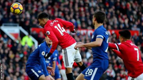 Lingard heads winner as Man Utd defeat Chelsea