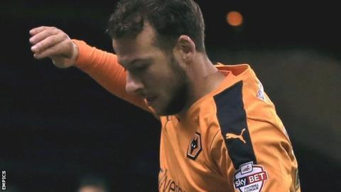 Wolves striker Adam Le Fondre