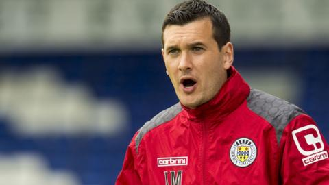 Ian Murray has managerial experience with Dumbarton and St Mirren