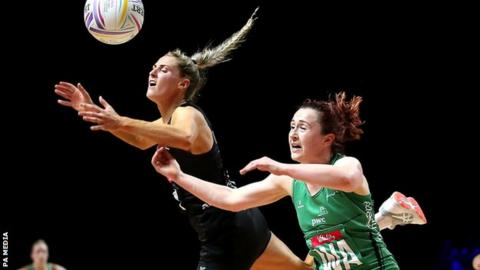 Netball World Cup: Northern Ireland suffer heavy loss to New Zealand