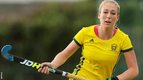 Railway Union's Sarah Hawkshaw has been brought into the squad for the Banbridge tournament