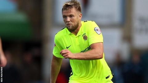 Hartlepool United midfielder Nicky Featherstone