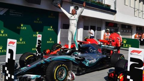 28046ee3c Hungarian GP: Lewis Hamilton to 'turn up heat' in second half of ...