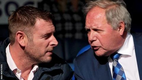Darragh MacAnthony took over from Barry Fry as Posh owner in September 2006