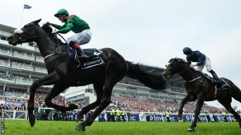 Harzand ridden by Pat Smullen