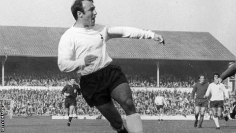 Jimmy Greaves during his Tottenham career