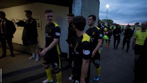 Livingston players
