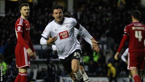 Derby County's George Thorne