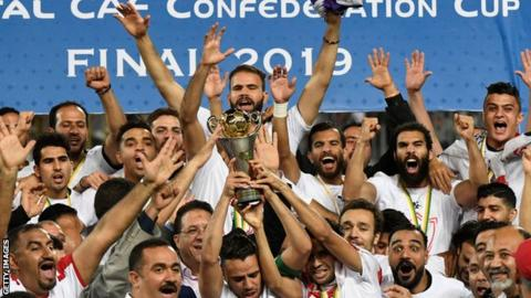 Zamalek lift the Confederation Cup
