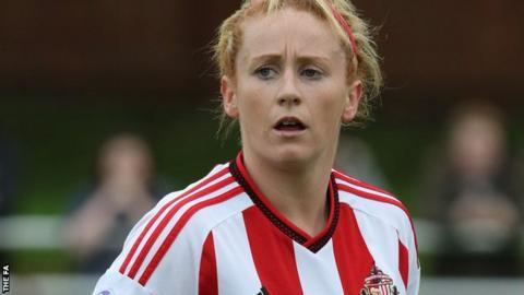 Rachel Furness in action for Sunderland