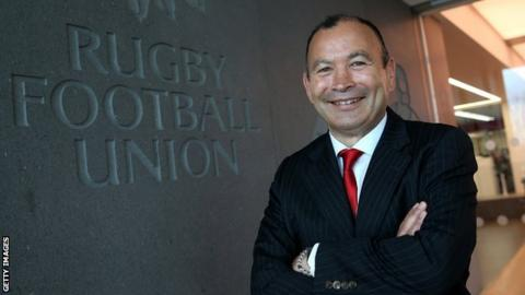 England coach Eddie Jones