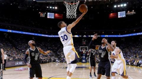 Golden State Warriors close in on NBA wins record