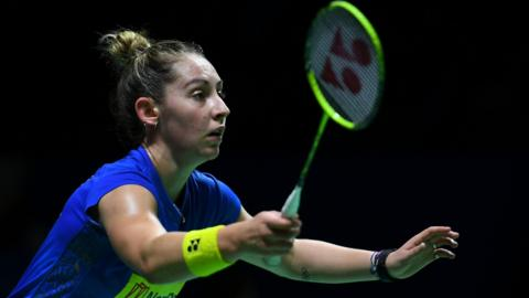 Scotland's Kirsty Gilmour is the top seed in Russia