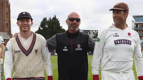 Mathew Maynard at Somerset Cricket club