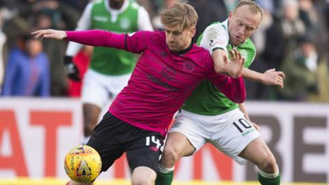 Stuart Armstrong and Dylan McGeouch