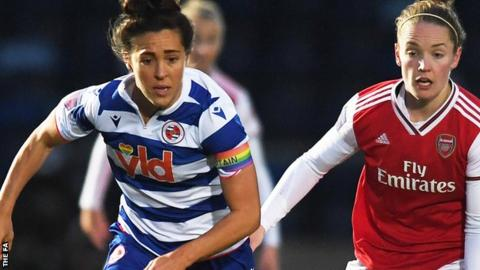 Fara Williams in action for Reading