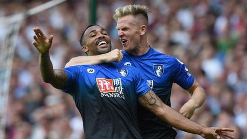Callum Wilson and Matt Ritchie