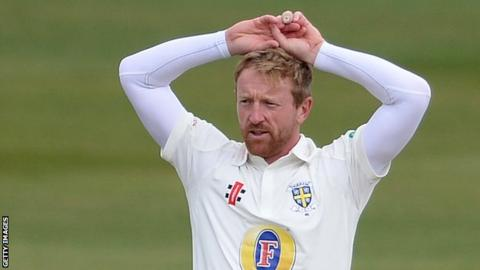 Durham captain Paul Collingwood