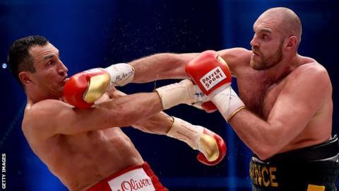 Tyson Fury set for rematch with Wladimir Klitschko