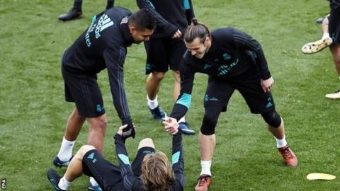 Gareth Bale: Real Madrid forward returns to training