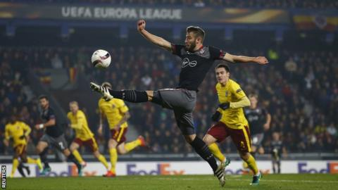 Sparta Prague v Southampton