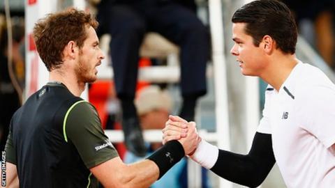 Andy Murray, Milos Raonic