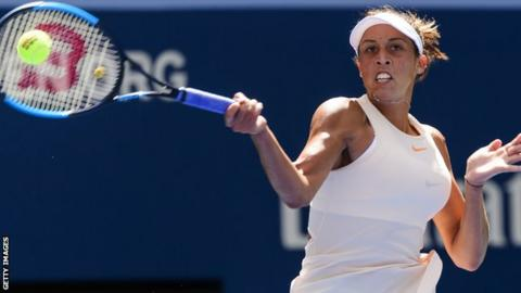 Madison Keys clinical in victory against Carla Suarez Navarro