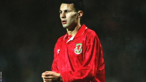 1991: Ryan Giggs became Wales' youngest ever international during Wales' 4-1 defeat to Germany in Euro 1992 qualification.