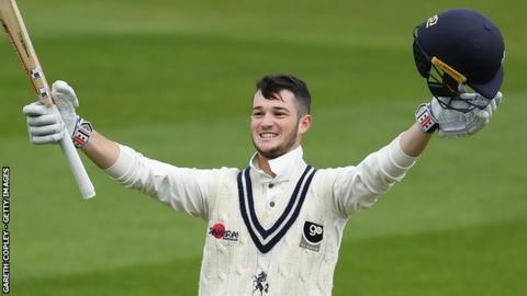 Kent wicket-keeper Ollie Robinson