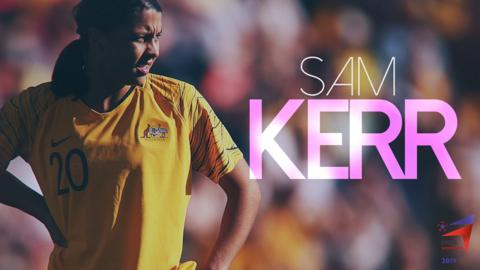 Meet BBC Women's Footballer of the Year contender Sam Kerr