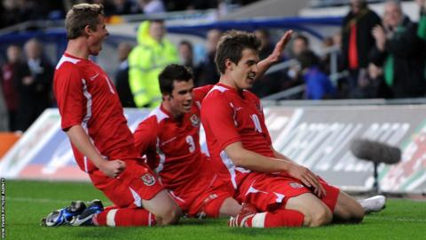 2009: John Toshack's time in charge would be a period of rebuilding with Aaron Ramsey and Gareth Bale among the youngsters given their chance.
