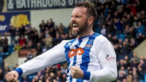 Kilmarnock striker Kris Boyd