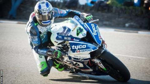 Ian Hutchinson is in his second season with the Tyco BMW team