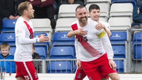 Kris Boyd scored his eighth goal of the season from the penalty spot