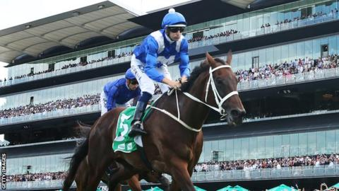 Winx pushed en route to Group One wins world record in classic