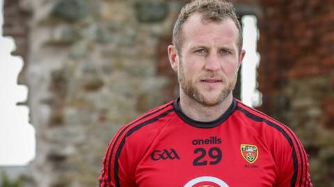 Down skipper Darren O'Hagan's wife Paula captained Clonduff to the Down, Ulster and All-Ireland intermediate camogie titles this year