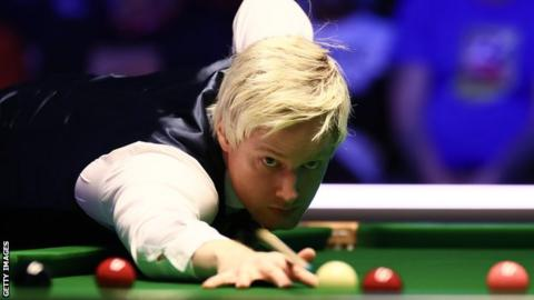 Neil Robertson at the World Grand Prix