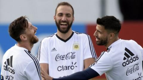 Messi is human - Aguero supports Argentina star after penalty miss