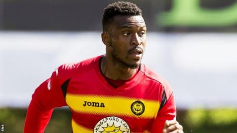 Partick Thistle winger David Amoo