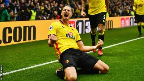 Sebastian Prodl has only played twice for Watford this season