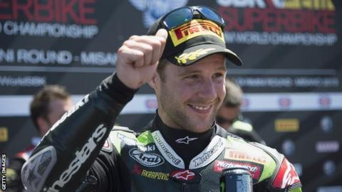 Jonathan Rea has not finished outside the top two in any World Superbike race this year