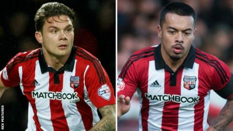 Harlee Dean and Nico Yennaris