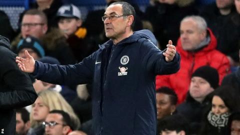 Roma contact Chelsea boss Maurizio Sarri's representatives for coaching role next season