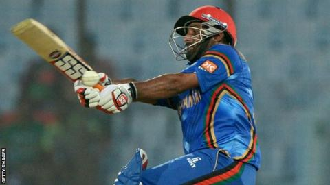 Afghanistan's Mohammad Shahzad