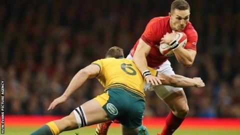 George North will win his 79th Wales cap against South Africa